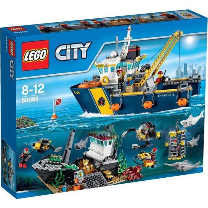 60095-Lego city 60095 bateau explo de LEGO