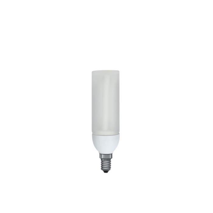 paulmann 89409 fluocompacte decopipe 9w e14 blanc chaud achat vente ampoule led cdiscount. Black Bedroom Furniture Sets. Home Design Ideas