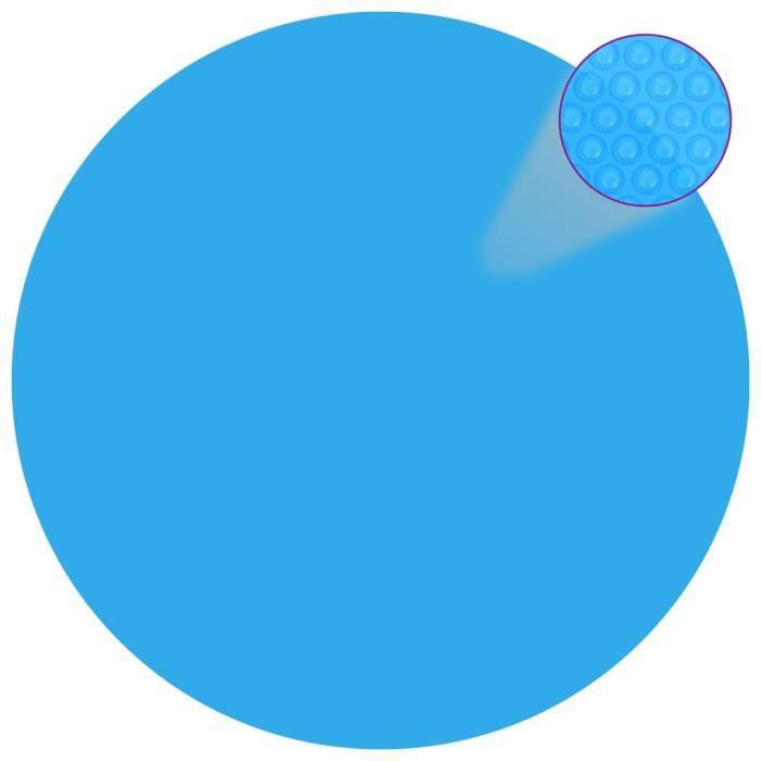 B che solaire bulles pour piscine 366cm achat vente for Bache solaire piscine