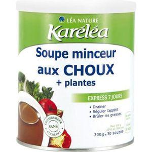 SUBSTITUT DE REPAS Soupe minceur Choux + plantes