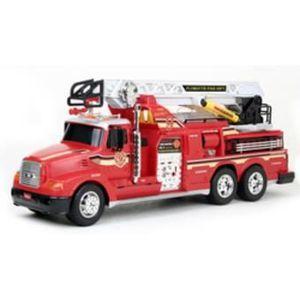 camion de pompier electrique achat vente jeux et jouets pas chers. Black Bedroom Furniture Sets. Home Design Ideas