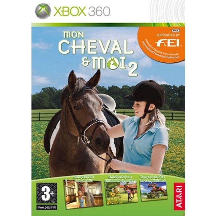 mon cheval moi 2 jeu console xbox360 achat vente jeux xbox 360 mon cheval et moi 2. Black Bedroom Furniture Sets. Home Design Ideas