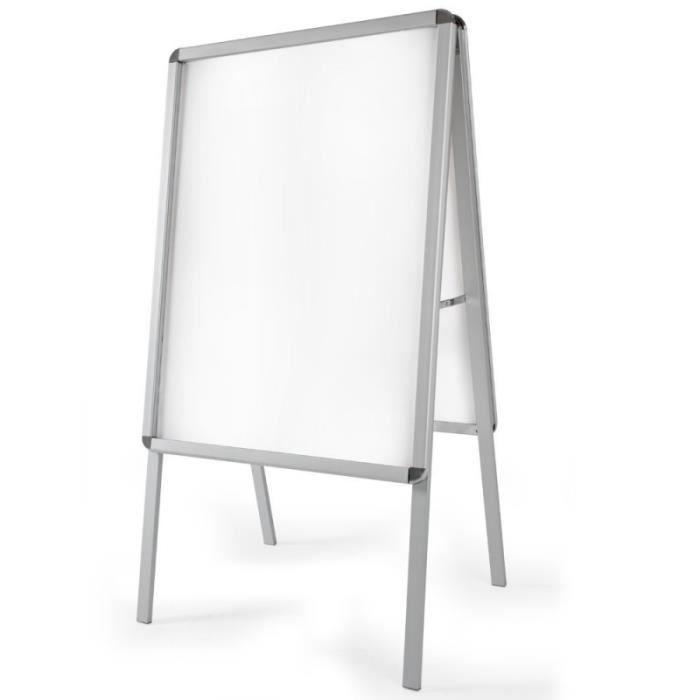 chevalet aluminium achat vente chevalet aluminium pas cher cdiscount. Black Bedroom Furniture Sets. Home Design Ideas