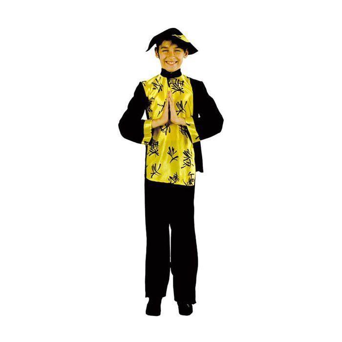 Déguisement Enfant Chinois Taille 11 13 Ans Ce costume comprend