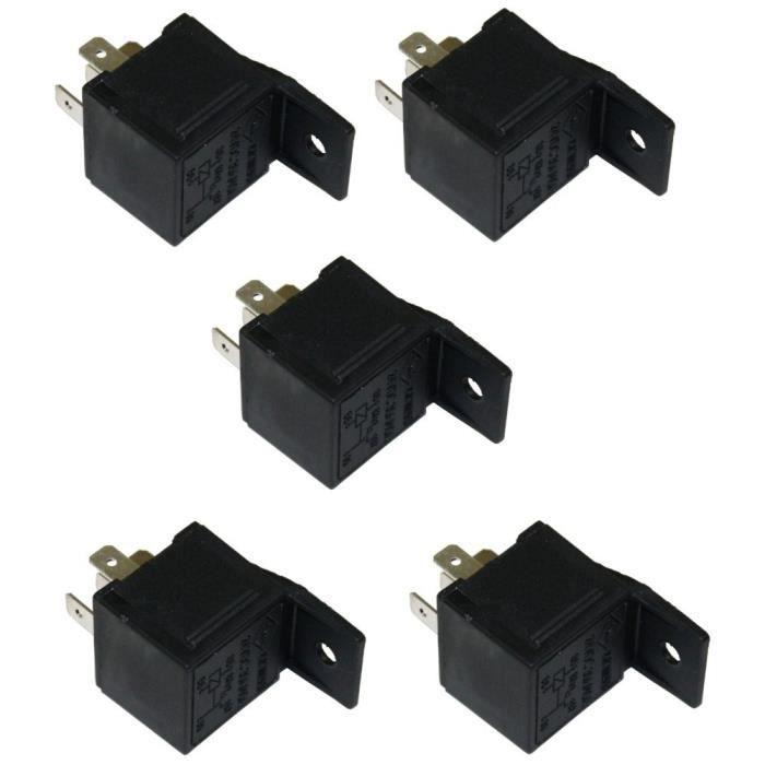 5 relais 24v 5 pins broches 30 40a pour camion achat vente relais circuit auto 5 relais 24v. Black Bedroom Furniture Sets. Home Design Ideas