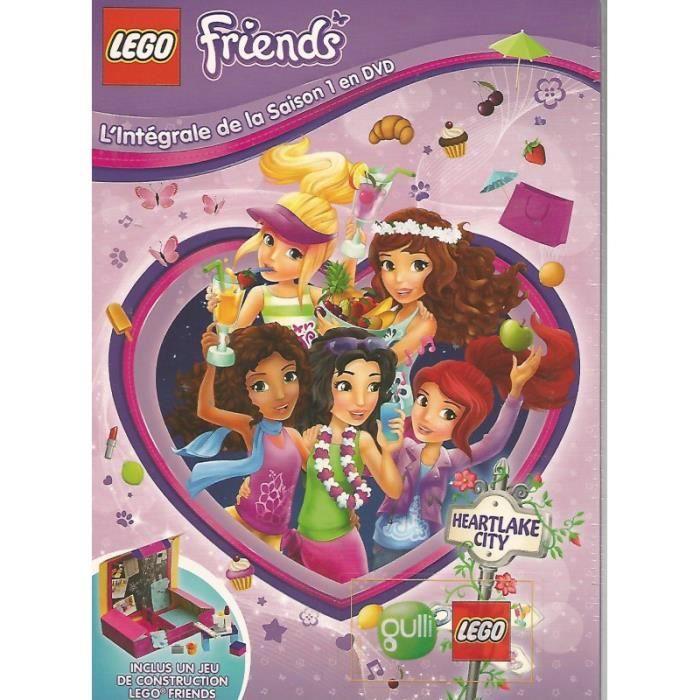 dvd lego friends saison 1 dition limit e 1 boite de jeu de construction lego friends en. Black Bedroom Furniture Sets. Home Design Ideas