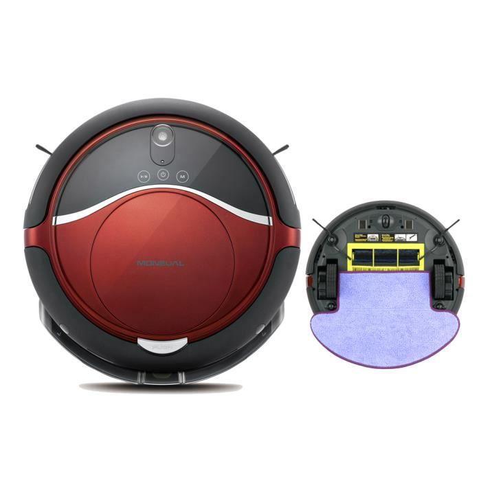 robot aspirateur et laveur moneual nouveau achat vente aspirateur robot cadeaux de no l. Black Bedroom Furniture Sets. Home Design Ideas