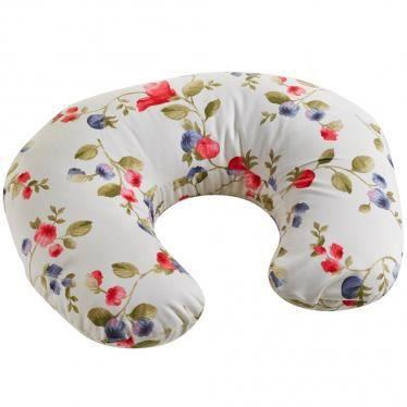Petit coussin d 39 allaitement fleuris achat vente - Retour de couches pendant allaitement ...