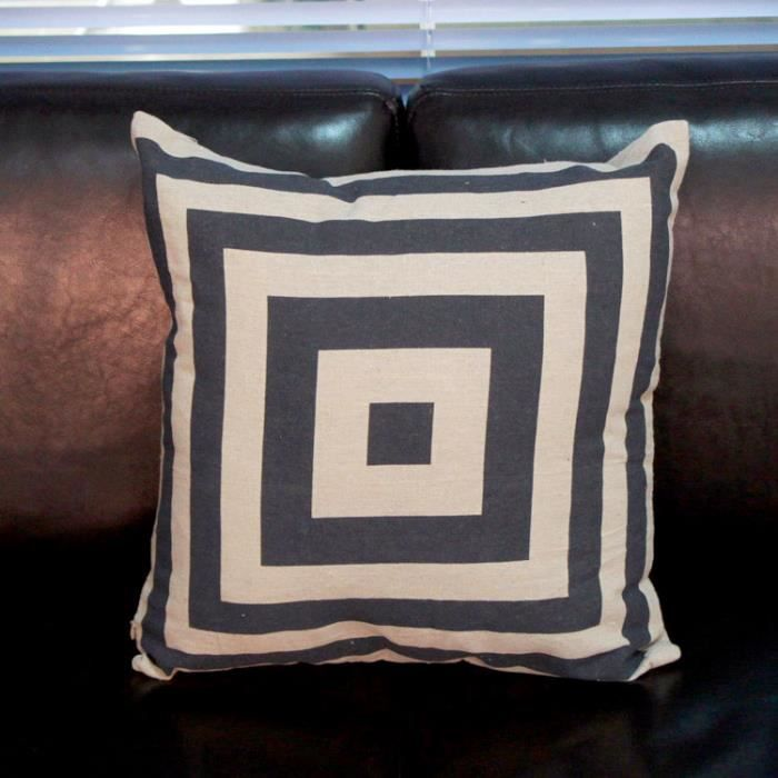 tutuwen taie d 39 oreiller volant plat coton 42 x 42 cm unique pour canap coussin voiture oreiller. Black Bedroom Furniture Sets. Home Design Ideas