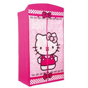 PENDERIE SOUPLE armoire a vetement en tissu hello kitty