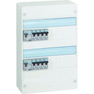 Tableau electrique 4 rangees achat vente tableau electrique 4 rangees pas cher soldes - Tableau electrique legrand ...