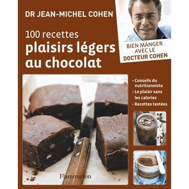 100 recettes plaisirs l gers au chocolat achat vente. Black Bedroom Furniture Sets. Home Design Ideas