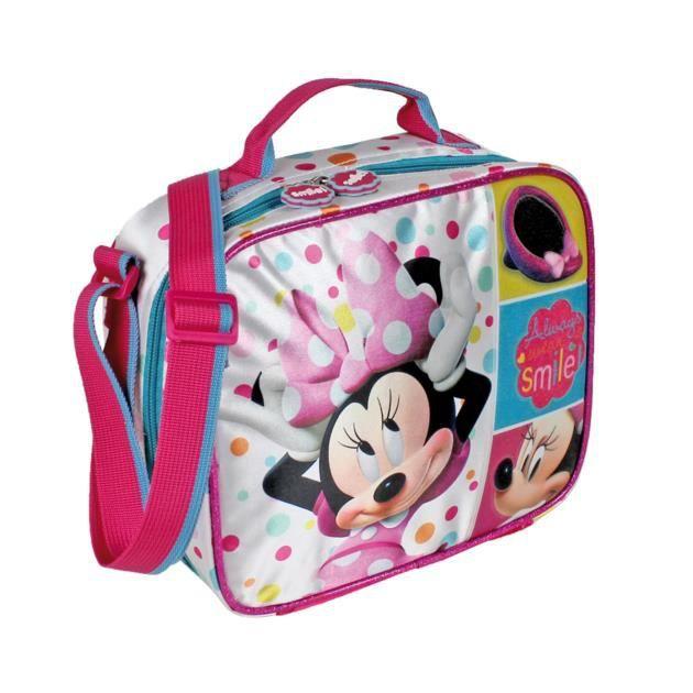 Minnie sac gouter avec gourde et boite tarti achat - Boite a gouter maternelle ...