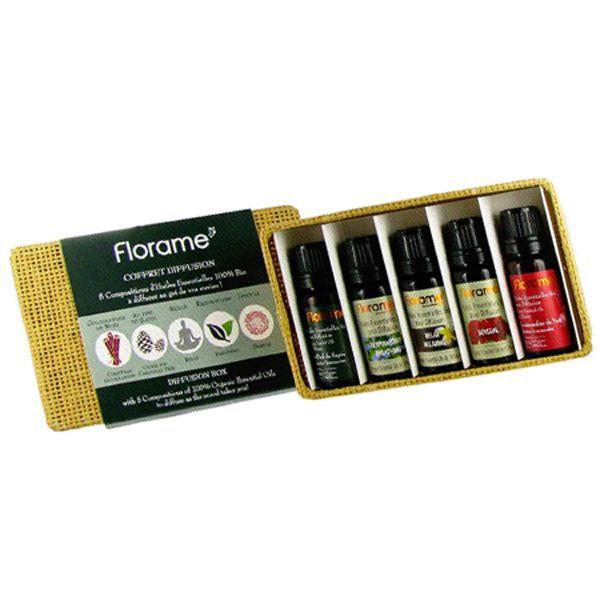 Huile essentielle set de 5 huiles essentielles - Huiles essentielles a diffuser dans la maison ...