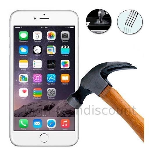 film de protection vitre verre trempe transparent pour apple iphone 6s achat film protect. Black Bedroom Furniture Sets. Home Design Ideas