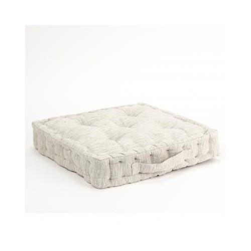 coussin de sol matelas 40x40cm ecru achat vente coussin cdiscount. Black Bedroom Furniture Sets. Home Design Ideas