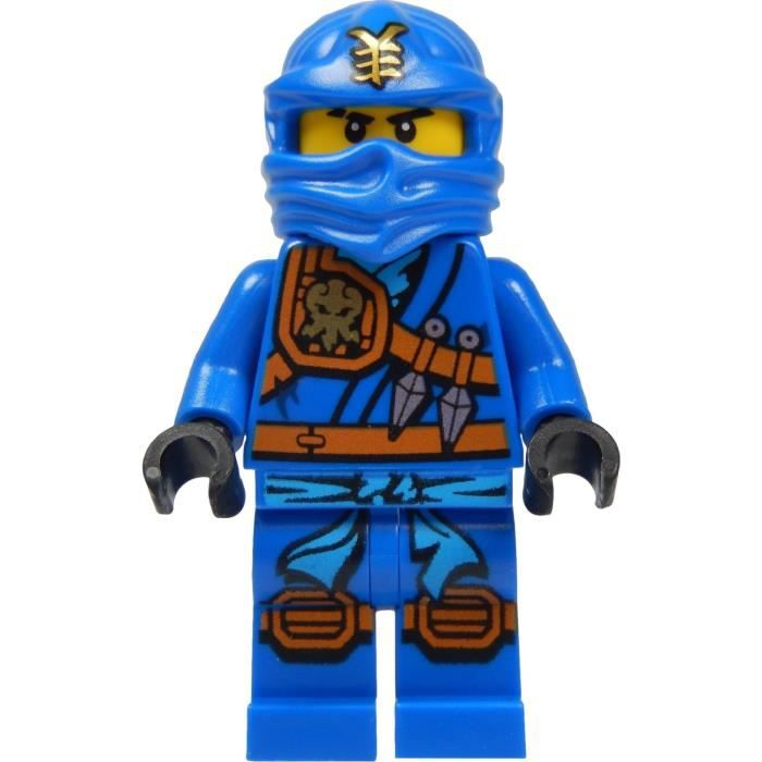 Lego ninjago jay blue ninja minifigure avec katana - Personnage ninjago lego ...