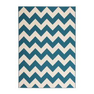 Tapis pastel achat vente tapis pastel pas cher - Tapis bleu scandinave ...