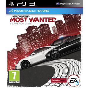 JEU PS3 NEED FOR SPEED MOST WANTED
