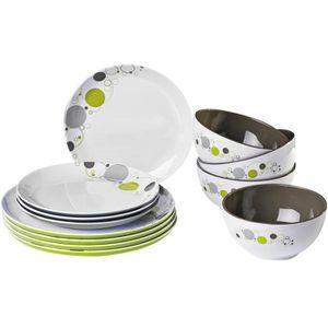 Pack de vaisselle en melamine achat vente pack de for Vaisselle de table pas cher