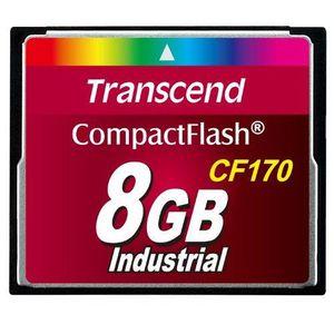 CARTE MÉMOIRE Transcend TS8GCF170 Carte mémoire Compact Flash…