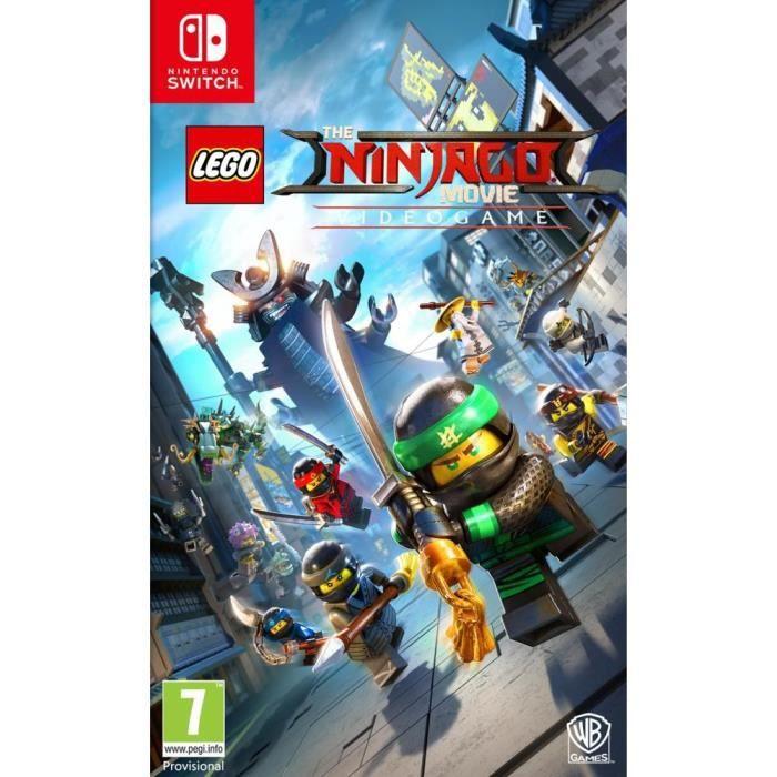 Lego ninjago le film le jeu video sur switch achat vente sortie jeux nintendo switch lego - Jeux de lego sur jeux info ...