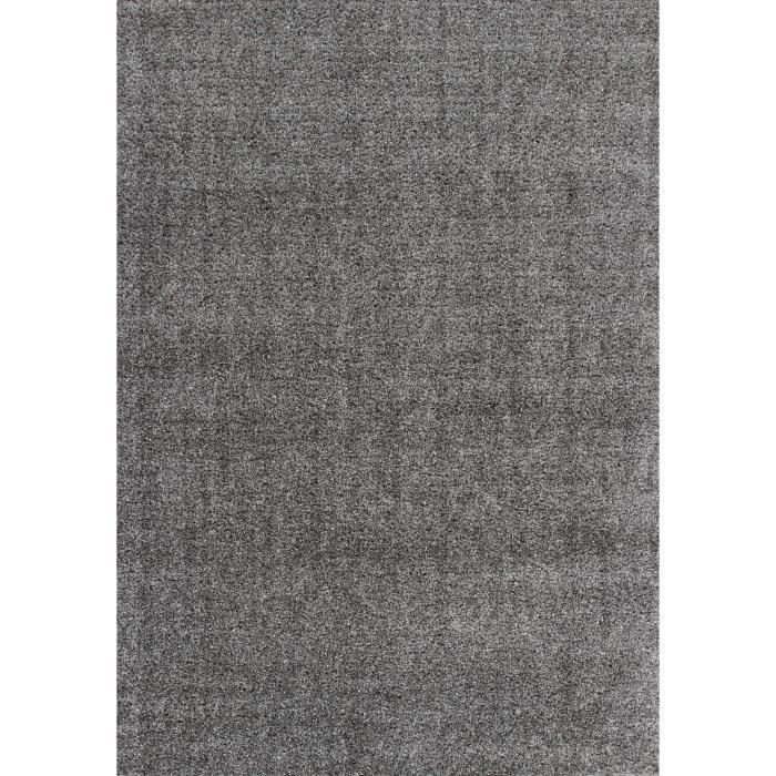 Tapis shaggy argenté ELMAS Lalee - 80 x 150 cm - Ce tapis shaggy vous ...