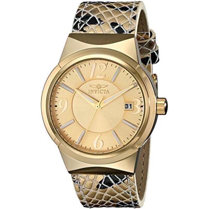 montre invicta achat vente montre montre invicta prix barr 0722630669098 cdiscount. Black Bedroom Furniture Sets. Home Design Ideas