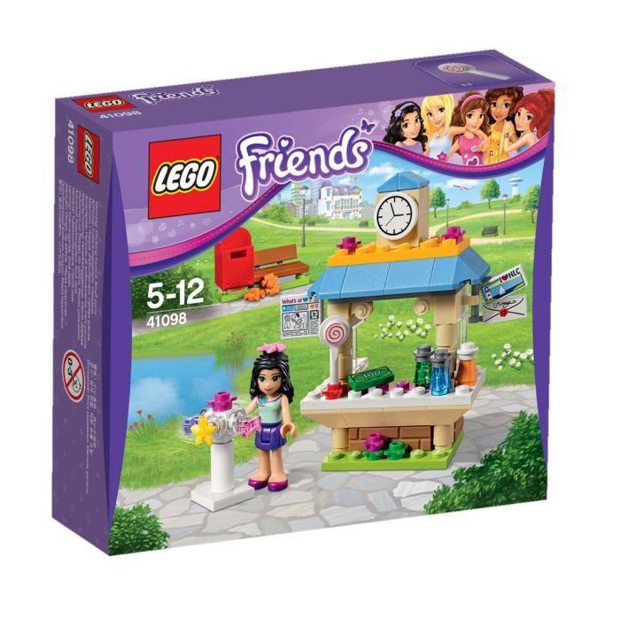 lego friends 41098 le kiosque d 39 emma achat vente assemblage construction cdiscount. Black Bedroom Furniture Sets. Home Design Ideas