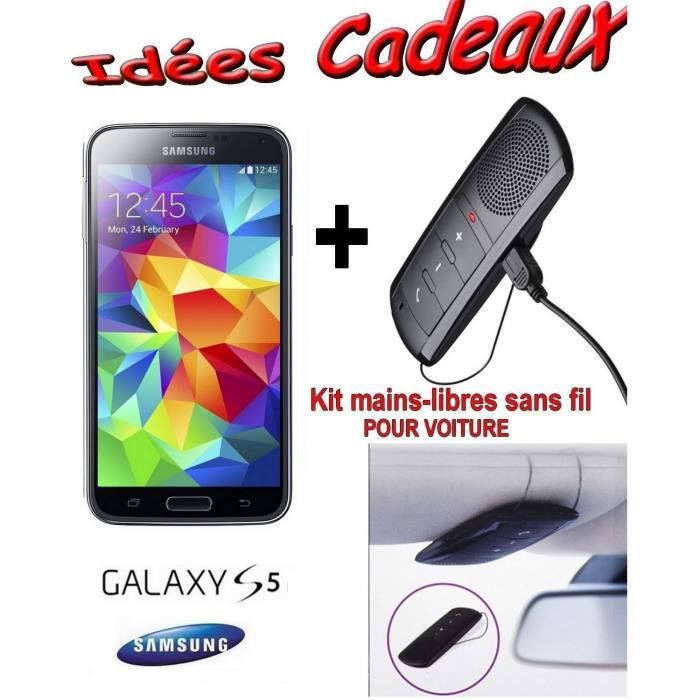 samsung galaxy s5 gold g900 kit voiture achat. Black Bedroom Furniture Sets. Home Design Ideas