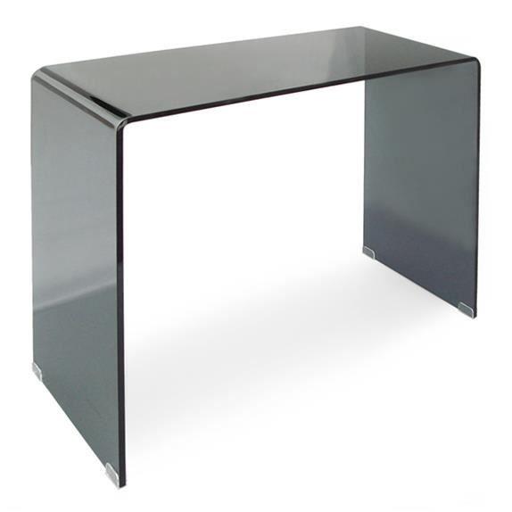 console bridge grise 90 cm achat vente console console. Black Bedroom Furniture Sets. Home Design Ideas