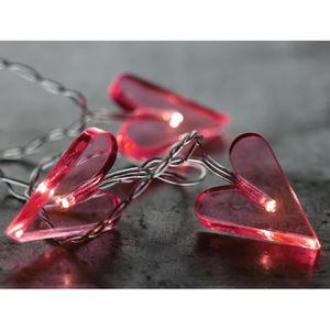 Guirlande lumineuse coeur achat vente guirlande - Guirlande lumineuse pas cher ...