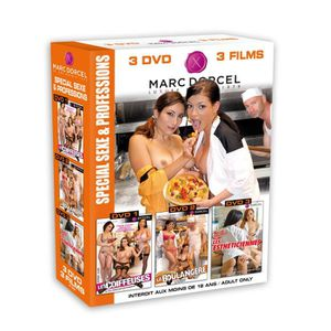 DVD X Coffret 3 DVD special Sexe & Professions