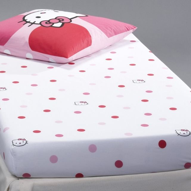 Hello kitty drap housse sophie achat vente drap - Drap housse 70x140 hello kitty ...