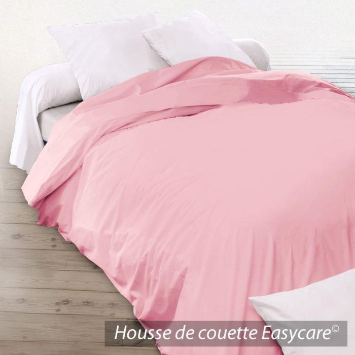 housse de couette coton 200x200 macaron achat vente housse de couette cdiscount. Black Bedroom Furniture Sets. Home Design Ideas