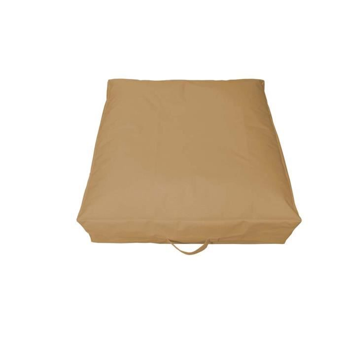 Coussin de sol gonflable garden taupe achat vente coussin d 39 ext rieur - Grand coussin de sol exterieur ...