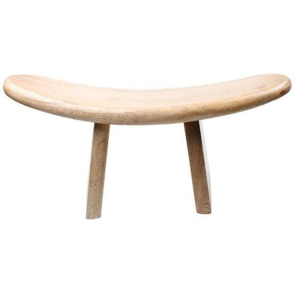 shoggi banc de m ditation clair achat vente banc bois h tre les soldes sur cdiscount. Black Bedroom Furniture Sets. Home Design Ideas
