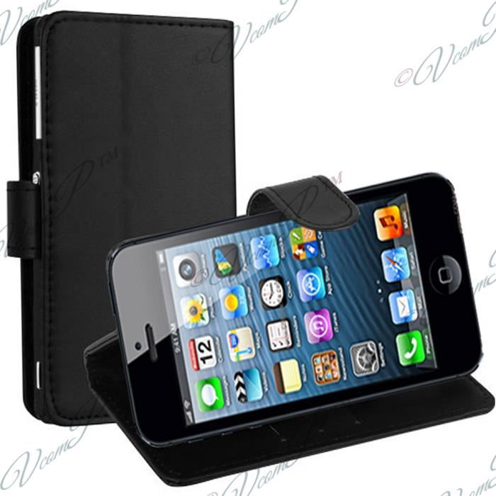 Etui portefeuille apple ipod touch 5 5g housse for Housse ipod touch 5