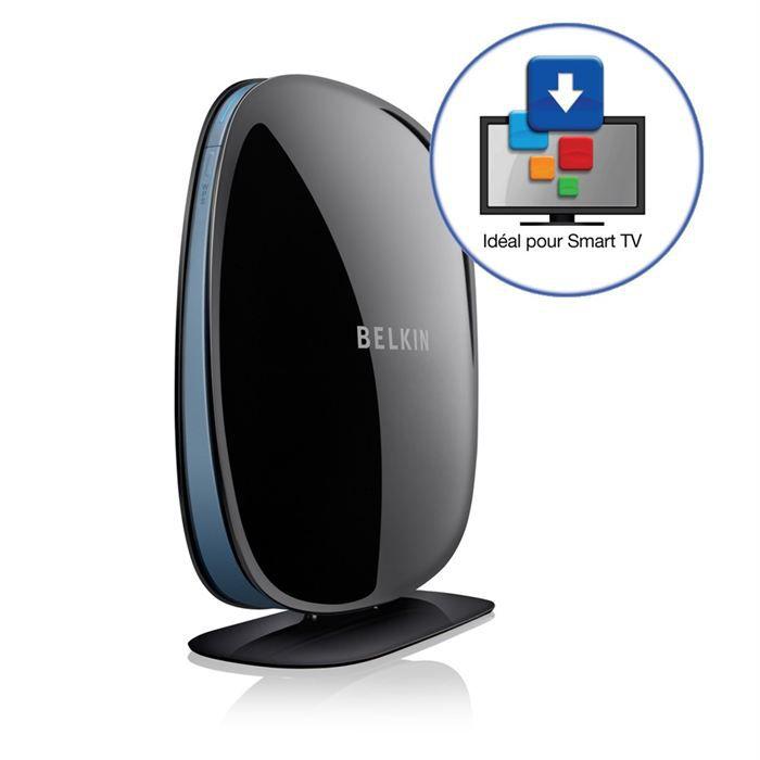 belkin f7d4550as smart tv link 4 ethernet box multimedia. Black Bedroom Furniture Sets. Home Design Ideas