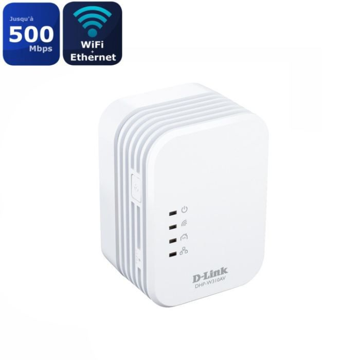 d link mini cpl 500mbps wifi dhp w310av x1 achat vente. Black Bedroom Furniture Sets. Home Design Ideas