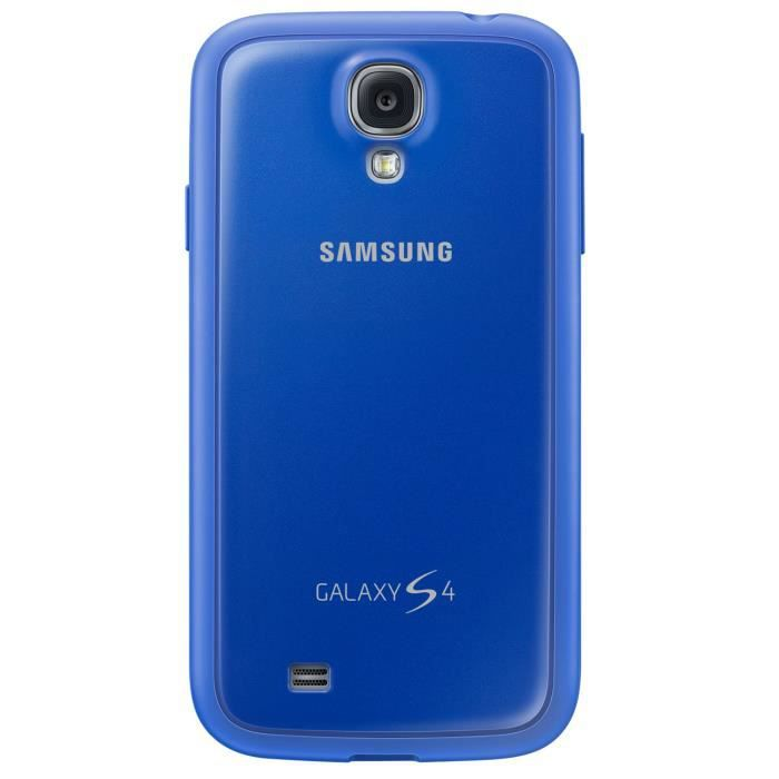 samsung coque galaxy s4 bleu achat coque bumper pas. Black Bedroom Furniture Sets. Home Design Ideas
