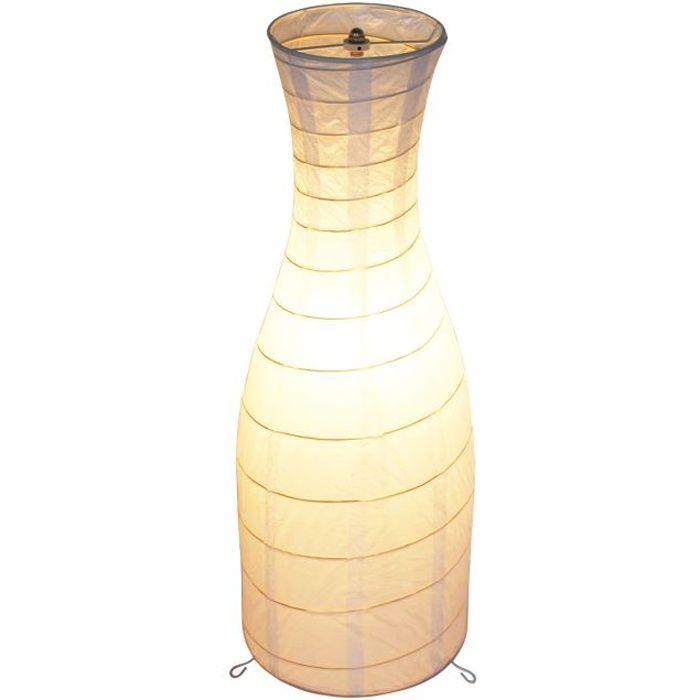 Lampadaire papier de riz h64 achat vente lampadaire - Lampe papier de riz ...