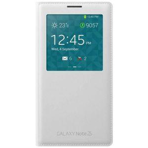 HOUSSE - ÉTUI Samsung étui Clear Cover blanc pour Note 3