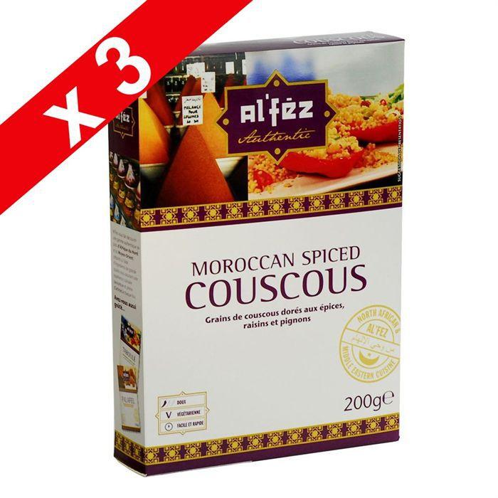 PLAT LÉGUMES - FÉCULENT Couscous aux épices par 3
