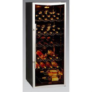 bottle box wbs270cd cave vin 120 bouteilles achat vente cave vin cdiscount. Black Bedroom Furniture Sets. Home Design Ideas