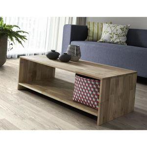 Table basse chene massif achat vente table basse chene for Table basse chene massif