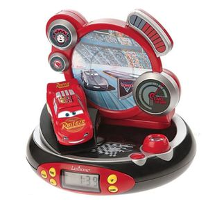 RÉVEIL ENFANT CARS Radio Réveil Enfant Projecteur Lexibook