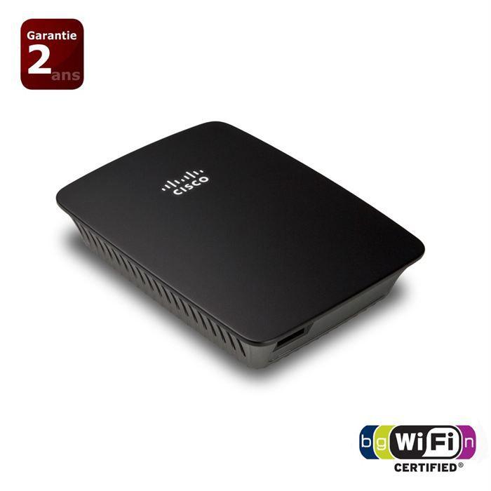 Linksys re1000 r p teur wifi universel n300 prix pas - Augmenter portee votre wifi avec repeteur ...