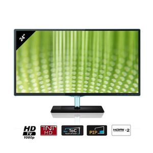 samsung t24d390 moniteur tv hd 60 cm achat vente t l viseur led samsung lt24d390 prix doux. Black Bedroom Furniture Sets. Home Design Ideas