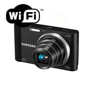 APPAREIL PHOTO COMPACT Appareil photo numérique Samsung ST200F WIFI Noir